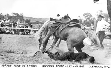 Postcards - Rodeos - Wyoming