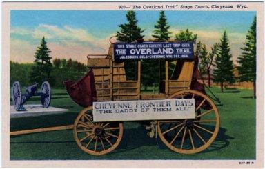 Postcards - Cheyenne Frontier Days