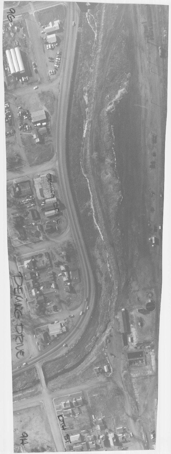 CHEYENNE CITY ENGINEER AERIAL PHOTO, DEMING DRIVE