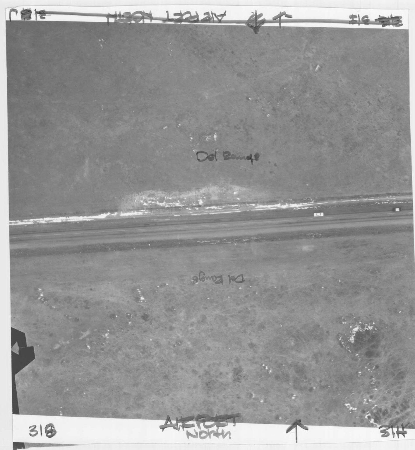 CHEYENNE CITY ENGINEER AERIAL PHOTO, CHEYENNE AIRPORT NORTH