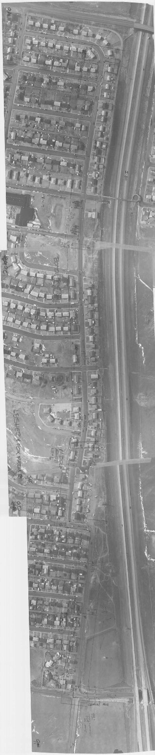 CHEYENNE CITY ENGINEER AERIAL PHOTO, LEISHER AVE AND FOX FARM RD