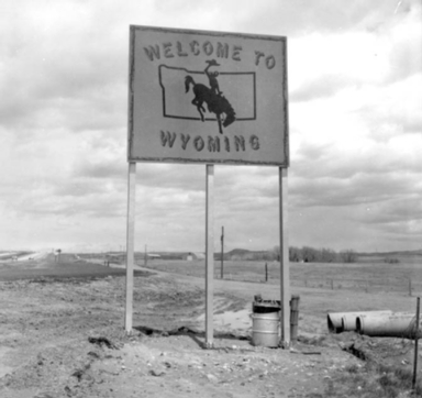 WYOMING HIGHWAY COMMISSION COLLECTION