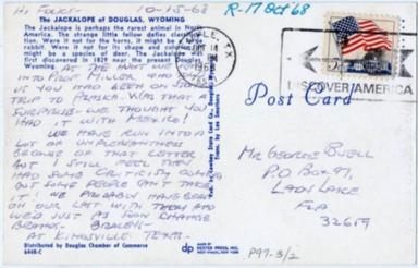 Postcards - Jackalopes