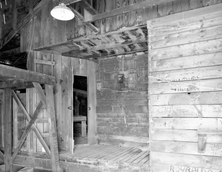 Interior of the Sheep Sheering Shed