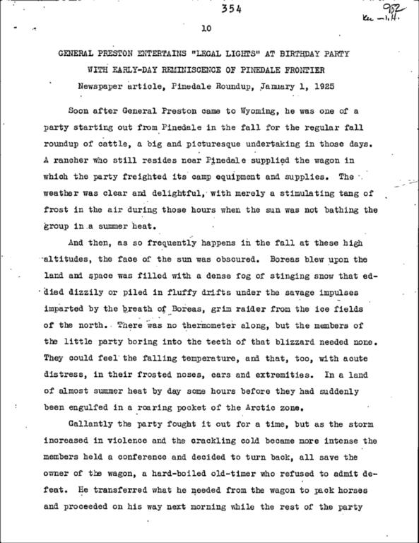 WPA Subject 1560 Wyoming general