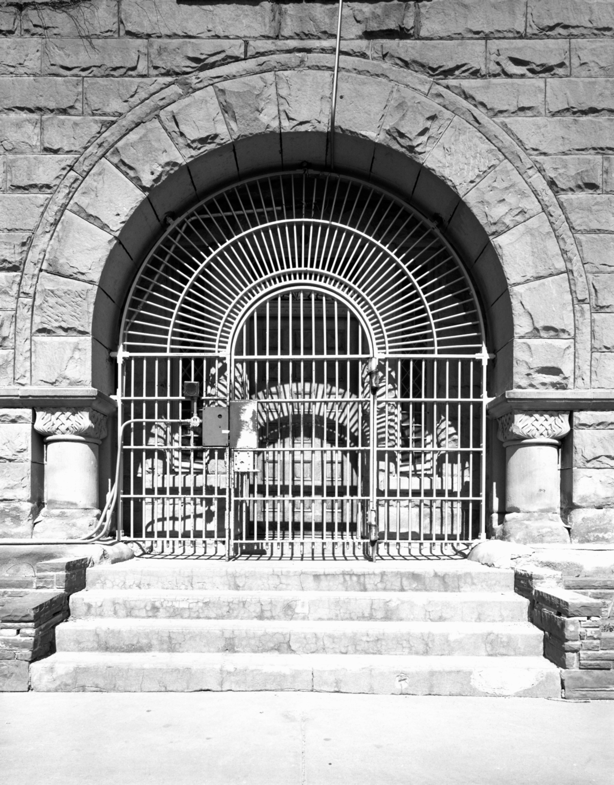 Main Entrance of Old State Prison